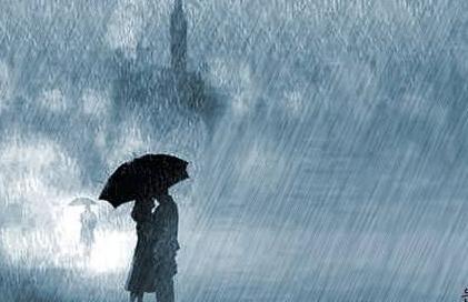 相逢在雨中